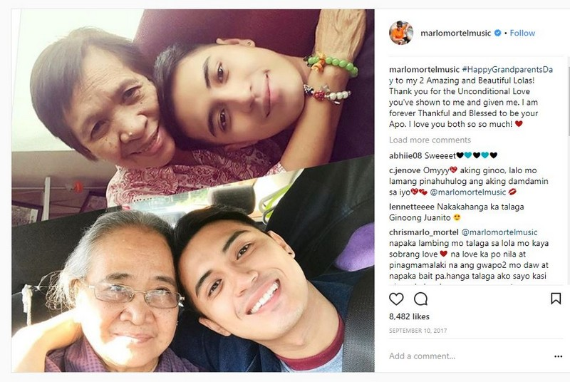 LOOK: 17 Photos that capture Marlo Mortel's love for his family