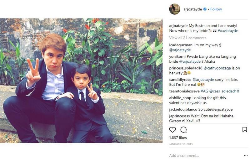 LOOK: 12 Photos of Arjo Atayde and his cutest mini-me!