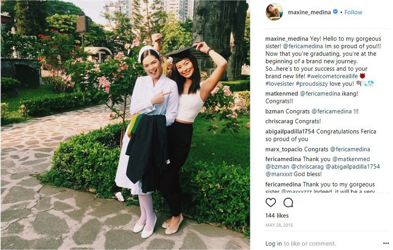IN PHOTOS: Maxine Medina's precious moments with her equally gorgeous sister!
