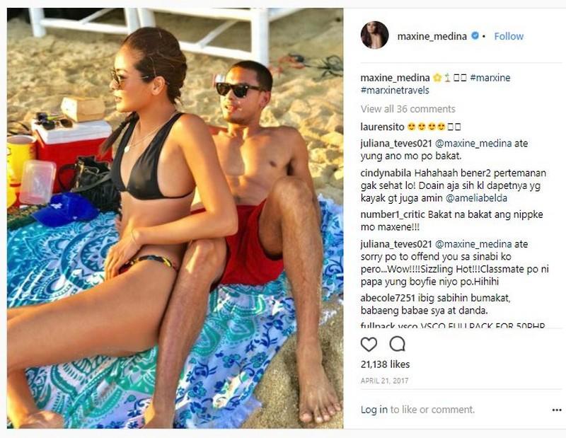 """LOOK: 20 Larawan kasama ang tunay na """"Paco"""" sa puso ni Maxine Medina"""