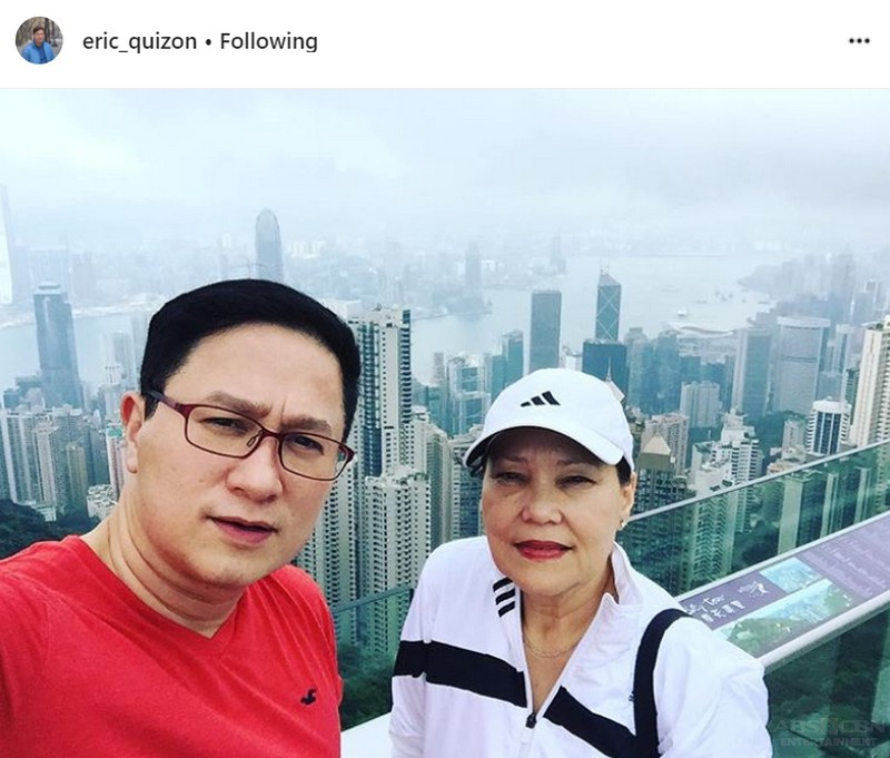 LOOK: 28 Photos that capture Eric Quizon's priceless moments with his mom